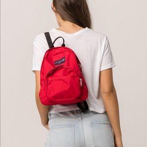 Half Pint Mini Red Jansport Backpack